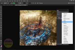 شفافیت بخشیدن به عکس در فتوشاپ